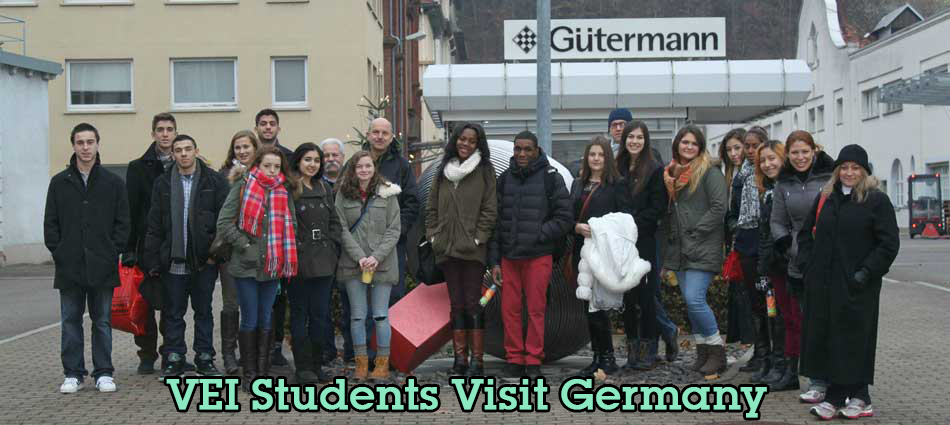 VEI Students Visit Gütermann, a German Mittelstand Firm