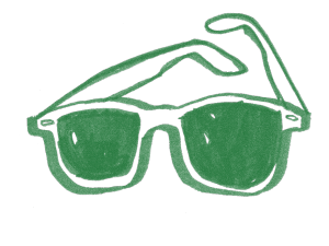 green-glasses
