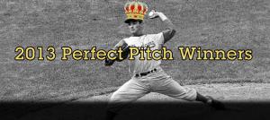 2013 Perfect Pitch winners