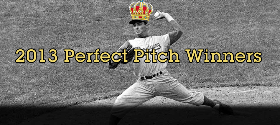 2013 Perfect Pitch winners