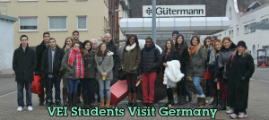 VEI Students Visit Germany