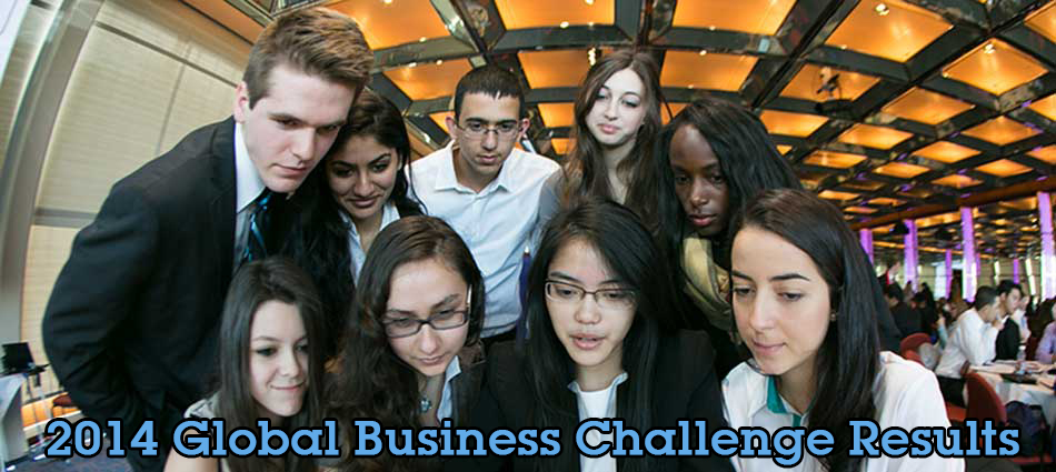 2014 Global Business Challenge Results