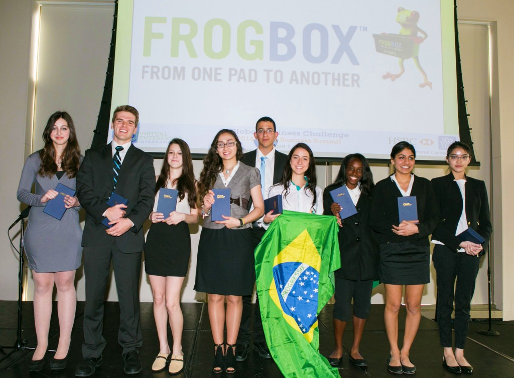 Virtual Enterprises International's Global Business Challenge 2nd Place Team