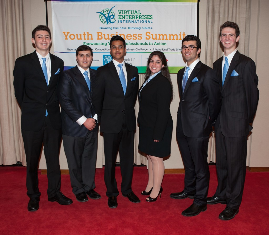 Virtual Enterprises International's National Business Plan Competition - 2nd Place - FlashComm (Hewlett, NY)
