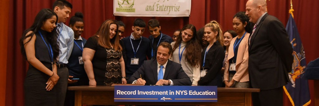 EducationInvestmentEvent_Students_School_Cuomo_hero